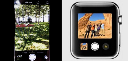 Apple Watch Camera App