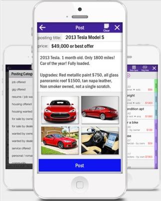 CPro Craigslist iPhone app