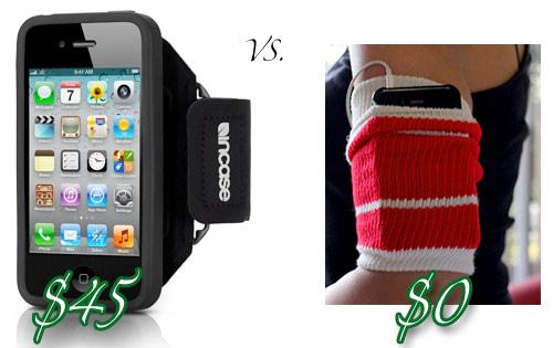 DIY iPhone armband