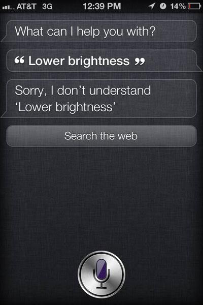 Siri Problems