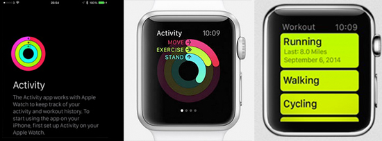 Apple Watch Activity & Workout Apps