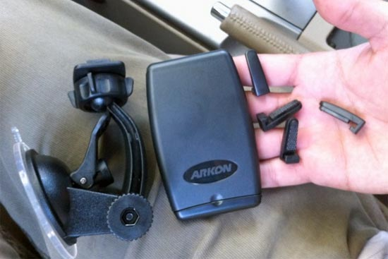 Arkon iPhone 4 mount contents