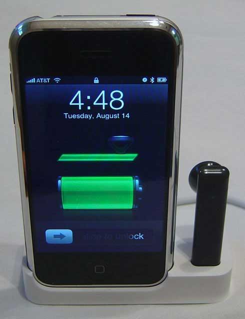 iPhone Bluetooth Battery