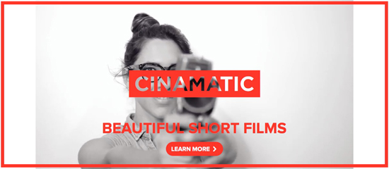 Cinamatic for iPhone
