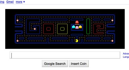 Google Pac-Man for iPhone