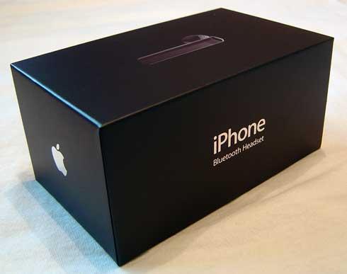 iPhone Bluetooth Headset Box