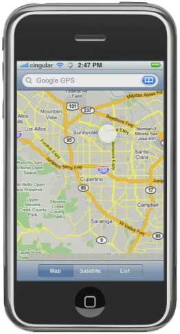 iPhone GPS
