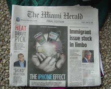 iPhone Miami Herald