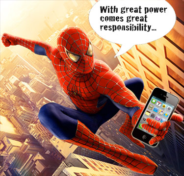 iPhone Power & Responsibility
