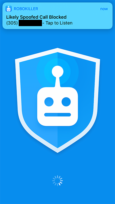 RoboKiller Spam Call Blocker App for iPhone
