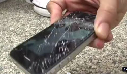 iPhone Glass Shattered