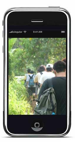 iPhone Video Camera