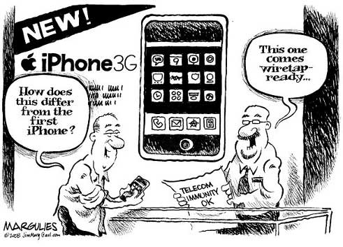 iPhone wiretapping