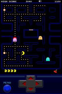 Pac-Man iPhone game