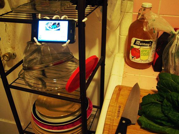 Spider Podium Kitchen