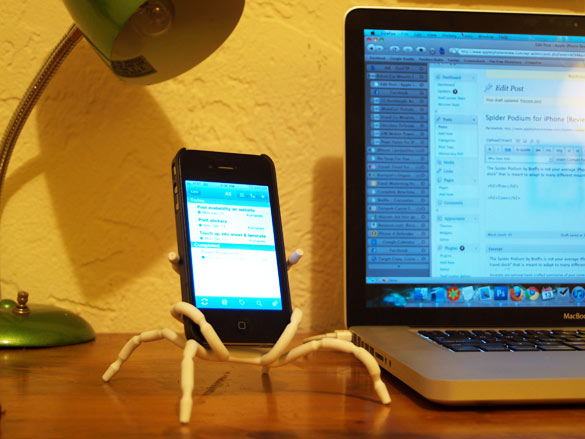 Spider Podium for iPhone