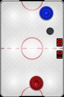 Touch Hockey iPhone game