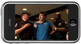 UF Taser incident on iPhone