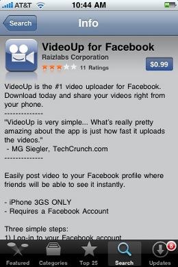 VideoUp for Facebook
